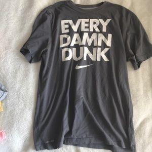 Men's Nike Drifit shirt